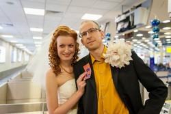Aэро-свадьба