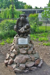 Киевский зоопарк скульптура