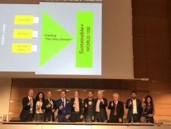 Руслана на церемонії нагородження Intersolar Awards 16.06.2018
