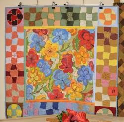 Виставка печворку Ольги Козицької «Геометрія кольорів»