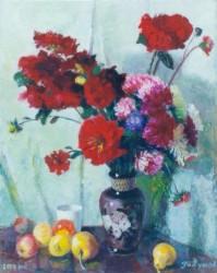 О. Годунов - жоржини 2000