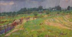 О. Годунов - після дощу 1988