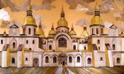 Виставка Ольги Денисюк «… ЯК СОНЦЕ ЗАСТИГЛО У РАМІ»