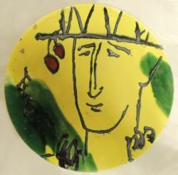 Виставка художньої керамічної тарелі «Вічне коло»