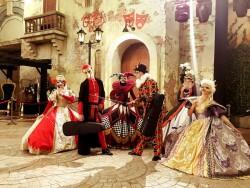 Венеціанський карнавал у Ferrari Park