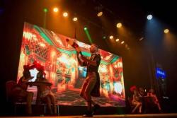 Театр танца Foresight на гастролях в Бразилии