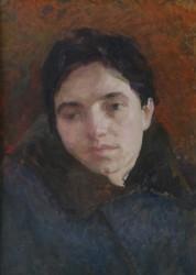 Олекса Захарчук - портрет Галина Григор'єва, 1955