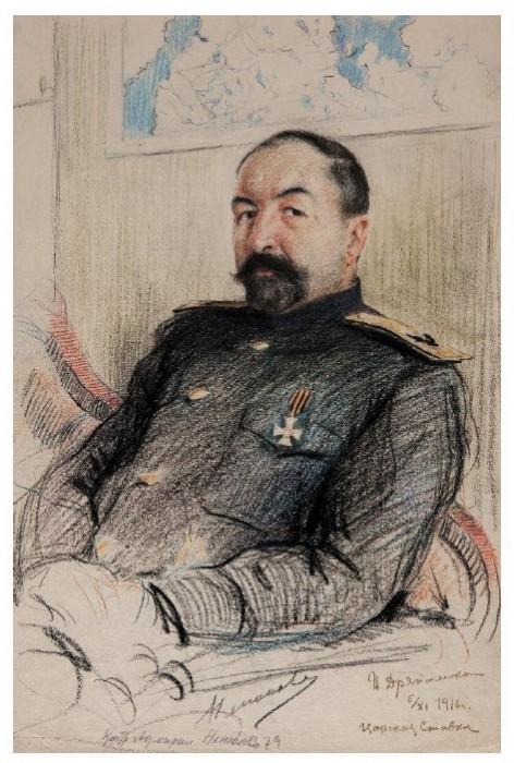 И. Дряпаченко, Вице-адмирал Д. Ненюков, 1916