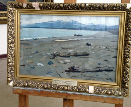 І. К. Дряпаченко. Берег Чорного моря біля Сухумі. 1908