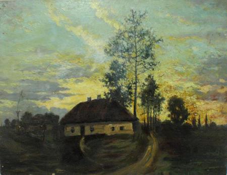 І. К. Дряпаченко. Вечір на Україні. 1920