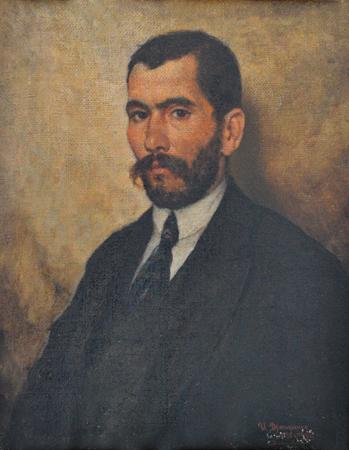 І. К. Дряпаченко. Портрет Бориса Семеновича Носоненка. 1926