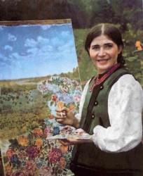 выставка Екатерины Билокур