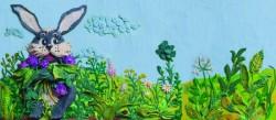 Пластилиновые книги художницы Анны Осадко