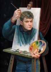 Олег Шупляк картина