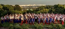 хор и оркестр MyCapella песня Украина