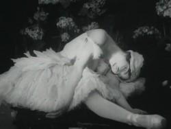 немое кино Умирающий лебедь
