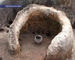 раскопки на Хринницком водохранилище