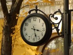 уличные часы Тернополя