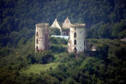 Червоногородский замок на Тернопольщине