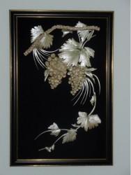 Цветы из рыбьих костей