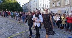 Стеблак и Лысая благотворительный модный показ
