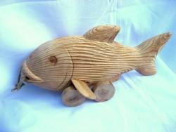 деревянная народная игрушка Анатолия Бровченка