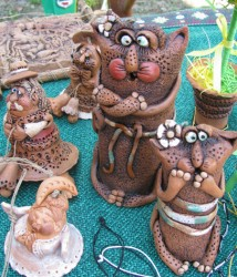 керамические изделия Татьяны Майор