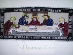 Вязанные иконы Надежды Соломко