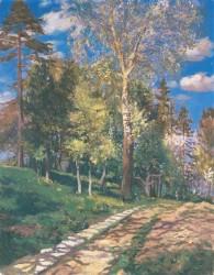 Выставка живописи Иосифа Бокшая