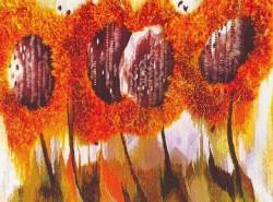 Выставка художницы Ольги Брынцевой