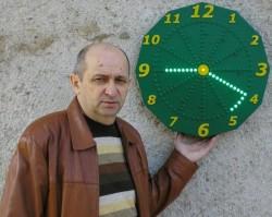 Уникальные часы изобретателя Александра Шеремета