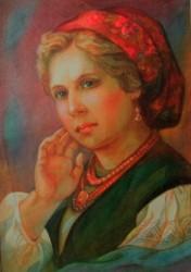 художница Лариса Иванова