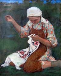 Вышивка Подолья