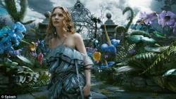 Алиса в стране чудес от Тима Бертона