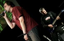 Юрий Андрухович и музыканты группы «Karbido»
