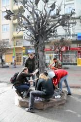 Кованное Дерево счастья Ивано-Франковска