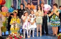 Диана Гурская на детском празднике