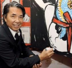 Выставка живописи Кензо Такада