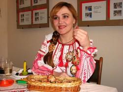 писанкарка Олеся Токарская