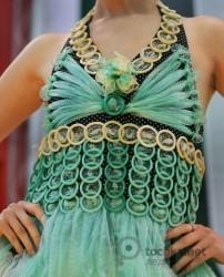 платья из отходов