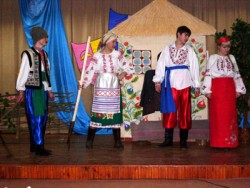 костюмы коллективов Рассвет