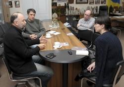 встреча украинских писателей