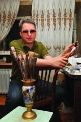 слепой художник Дмитрий Дидоренко