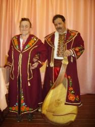 Татьяна Фролова с мужем
