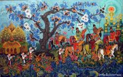 Марфа </p> <p>Тимченко, народная художница </p> <p>Украины